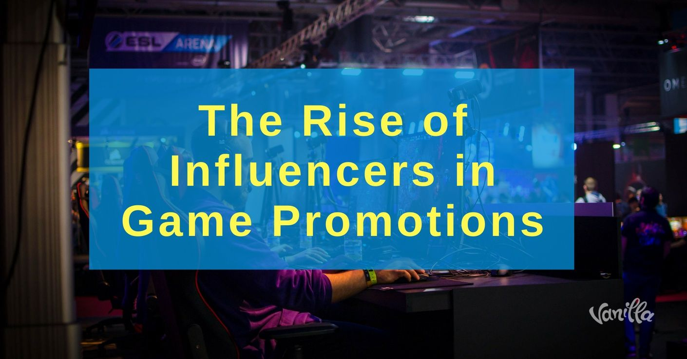 influencers in gaming