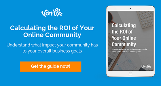 Calculate your community ROI