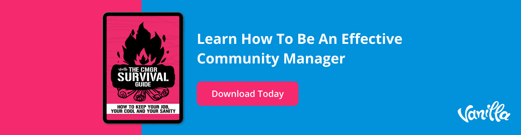 Community Manager Survival Guide