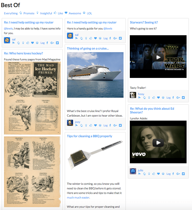 Best Of Curate Content