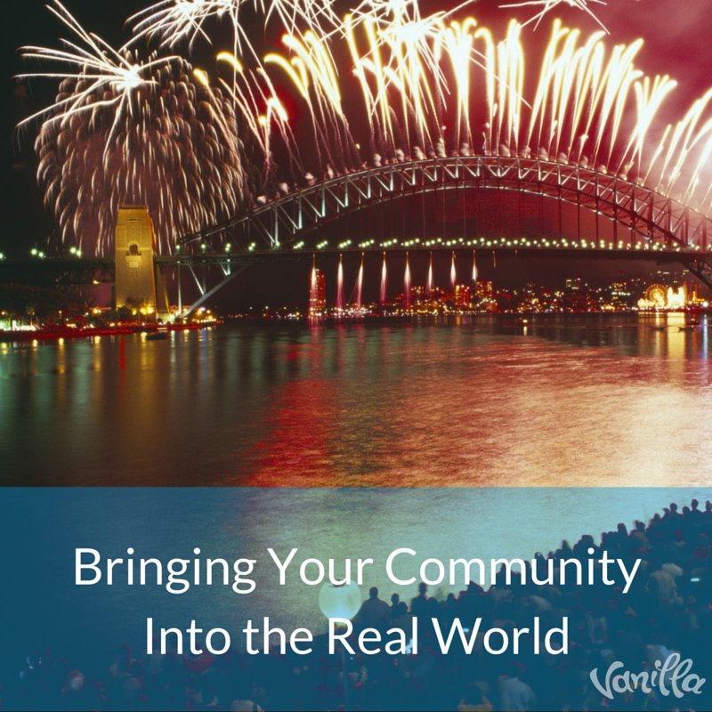 Bringing Your Community Into The Real World