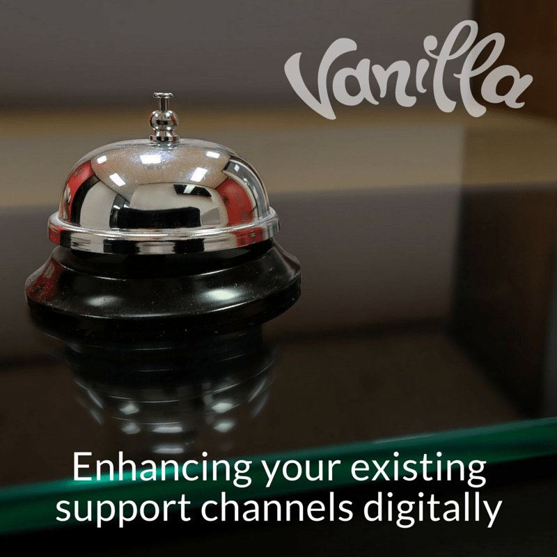 Enhancing your existing support channels digitally