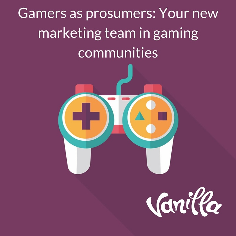 Prosumers are your saviour in Game Community Management
