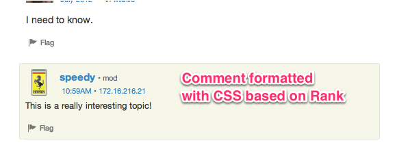 Formatting with CSS
