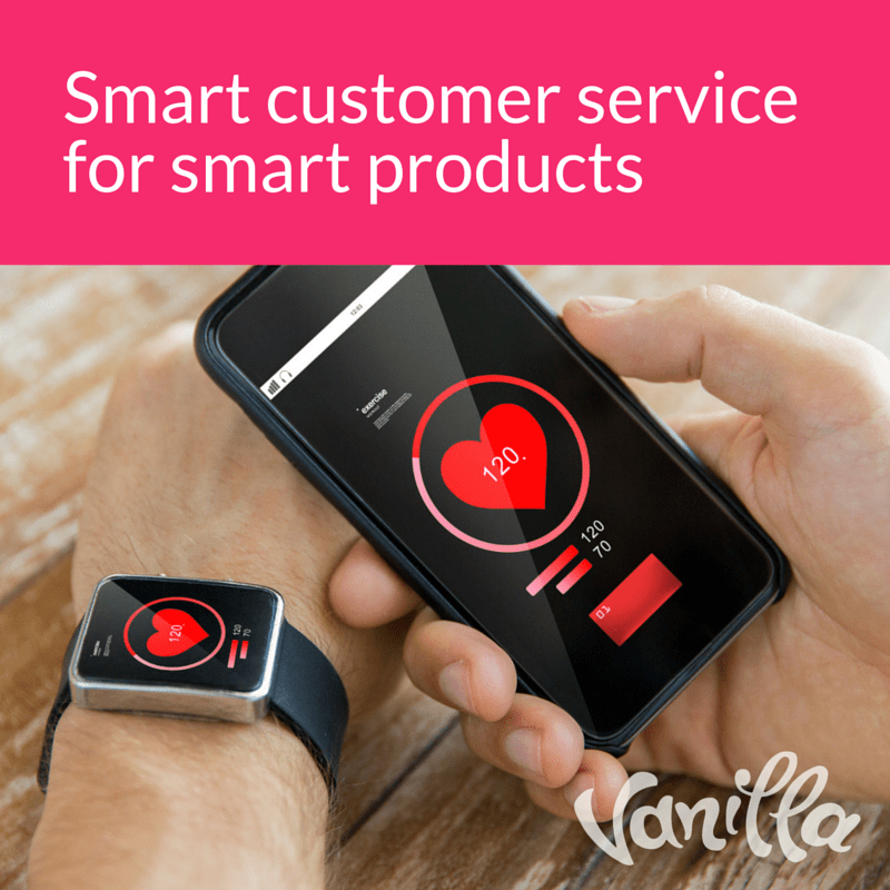 Smart customer service for smart products