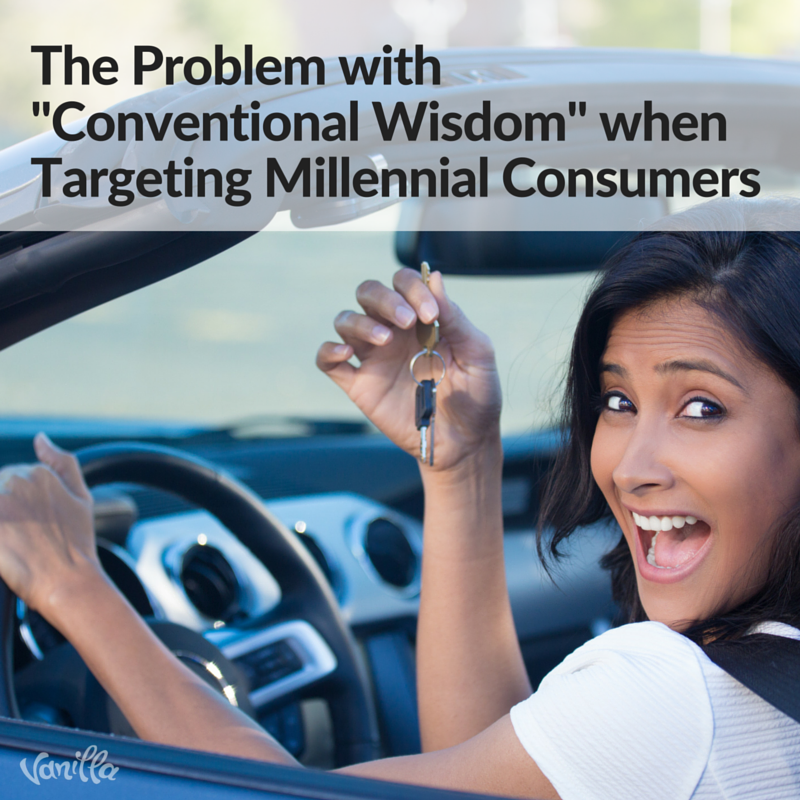 The Problem of Conventional Wisdom when Targeting Millennial Consumers