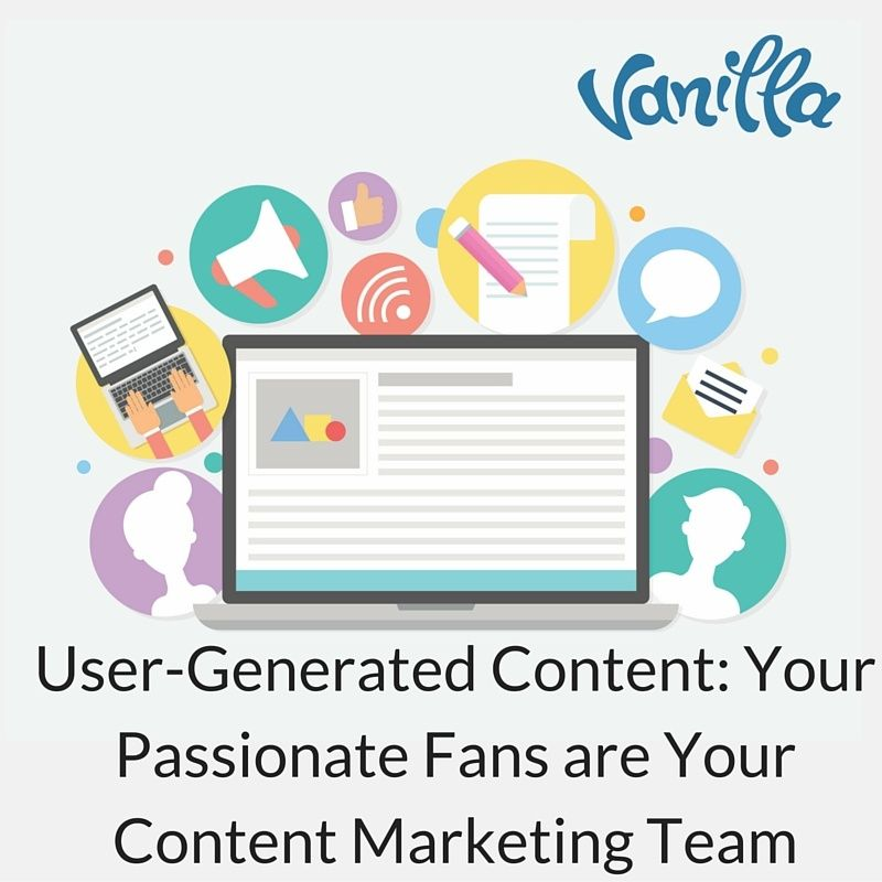 User-Generated Content- Your Passionate Fans are Your Content Marketing Team