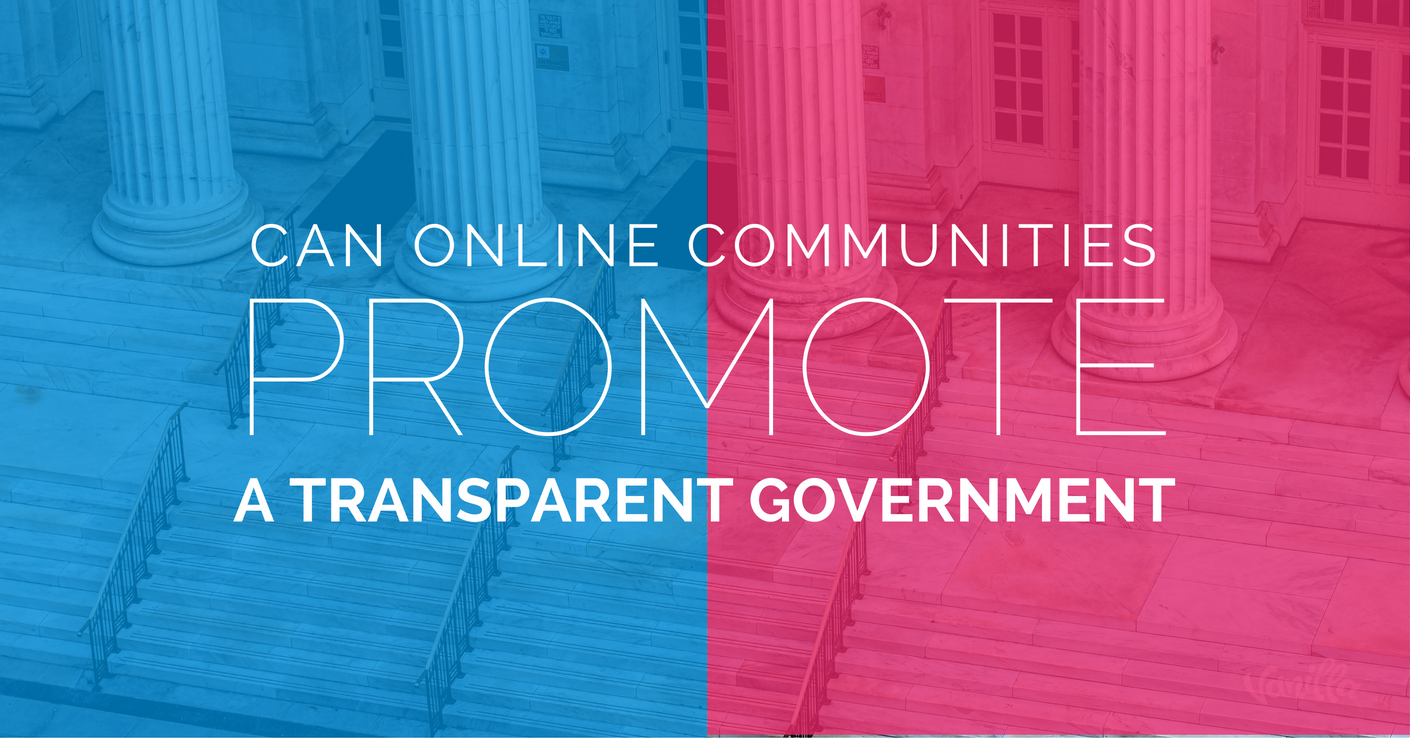 Open and Transparent Government