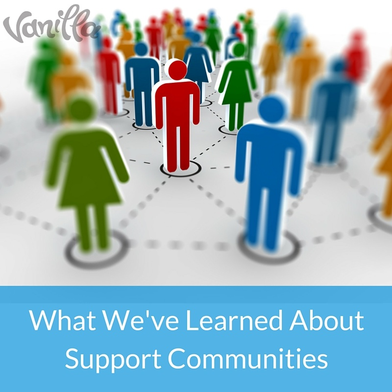 What We've Learned About Support Communities