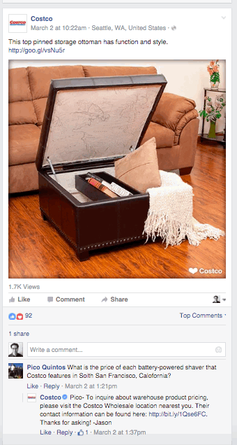 off-topic at Facebook