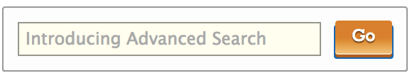 Introducing Advanced Search