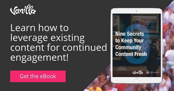 Leverage existing content for continued engagement!