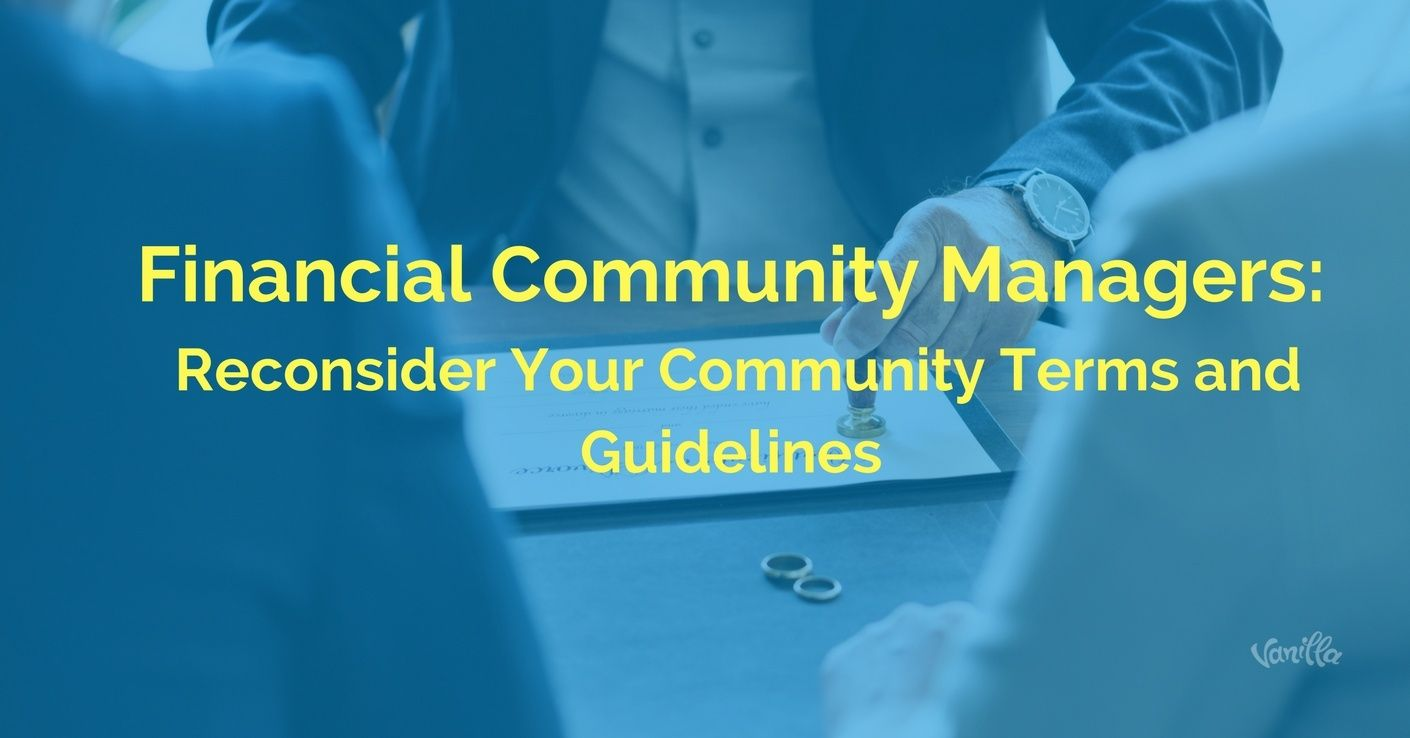 financial community managers