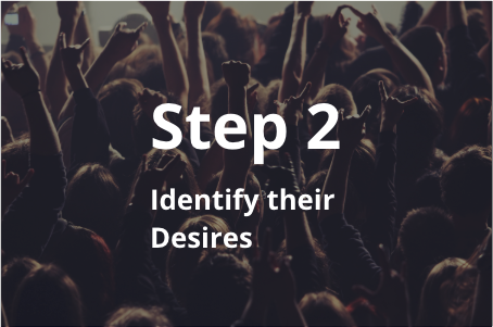 Step 2: Identify the Desires of Each Member Segment