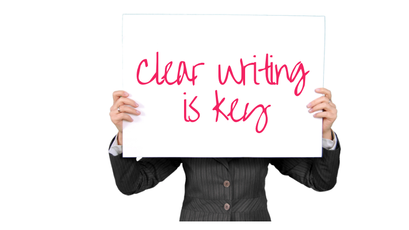 Clear writing is key to great writing skills