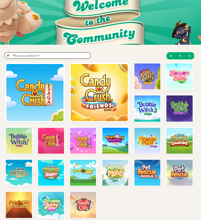 King Community Home Page