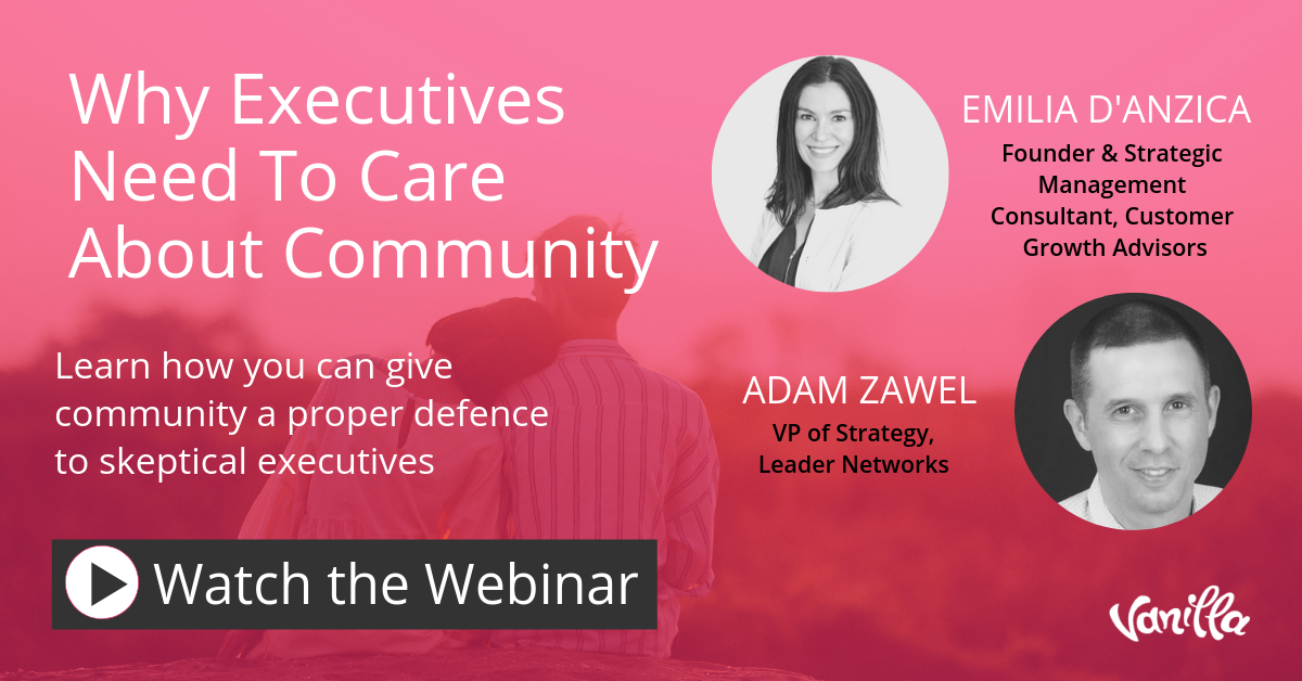 Why Executives Need to Care About Community