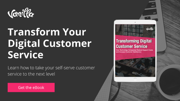 eBook - Transform Digital Customer Service