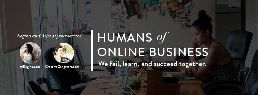 humans of online business facebook group
