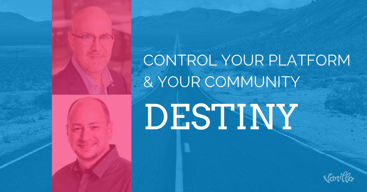 Control Your Platform & Your Community Destiny