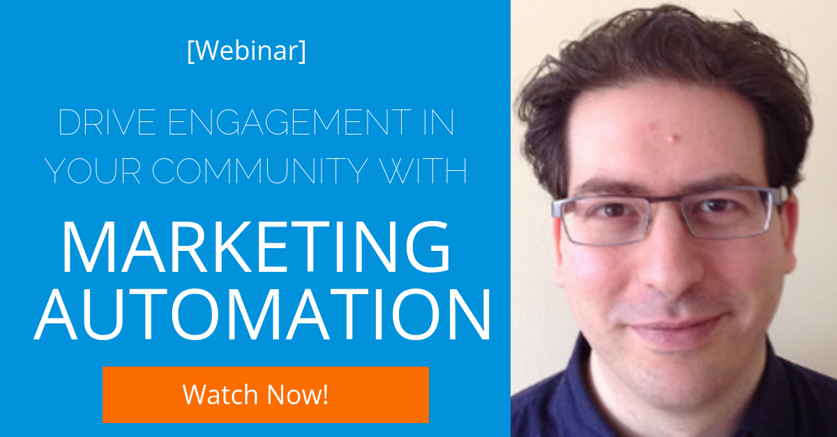 [Community] Driving Community Engagement with Marketing Automation