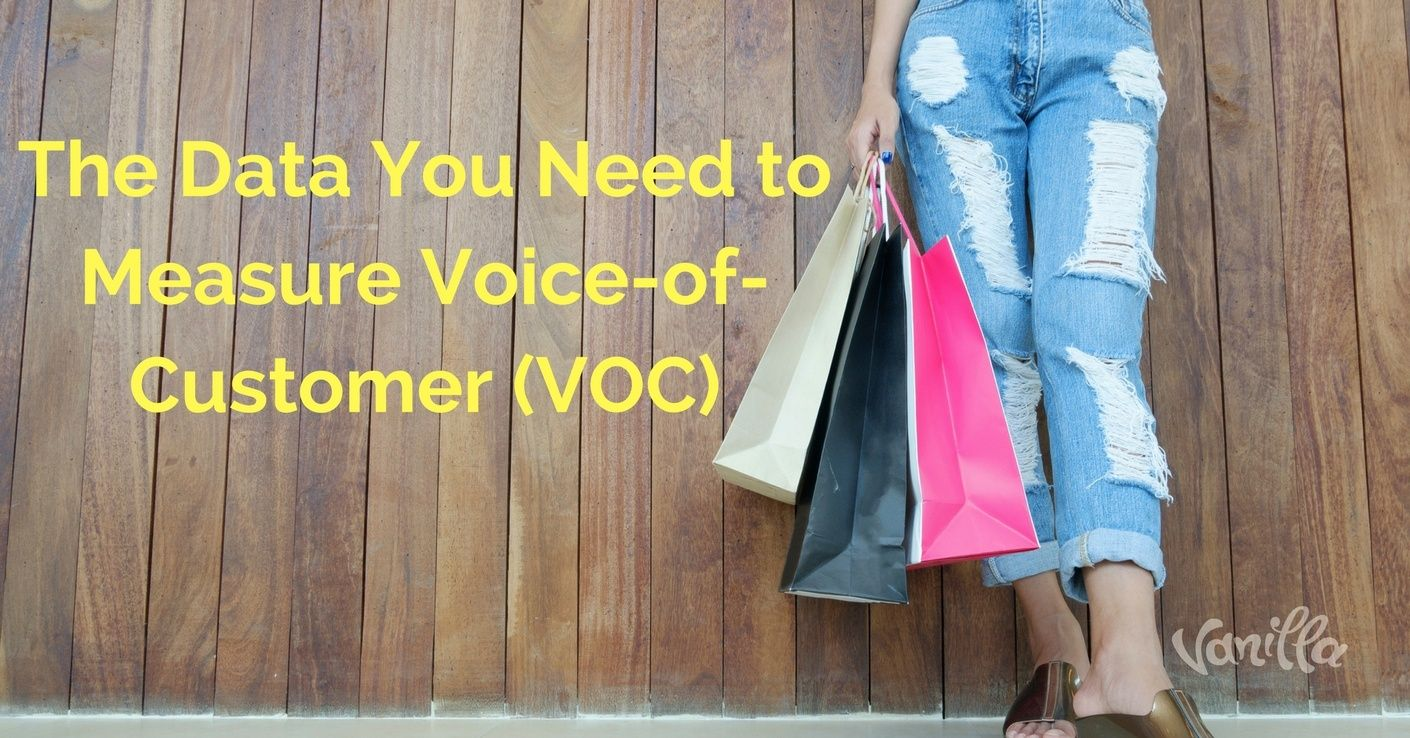 [Finance] The Data You Need to Measure Voice-of-Customer (VOC)
