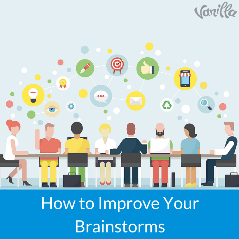 How to Improve Your Brainstorms