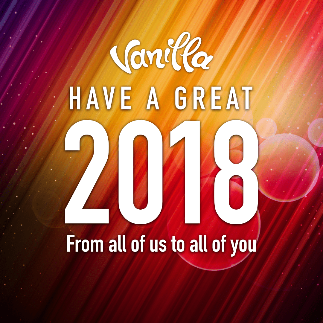 Welcome to 2018!