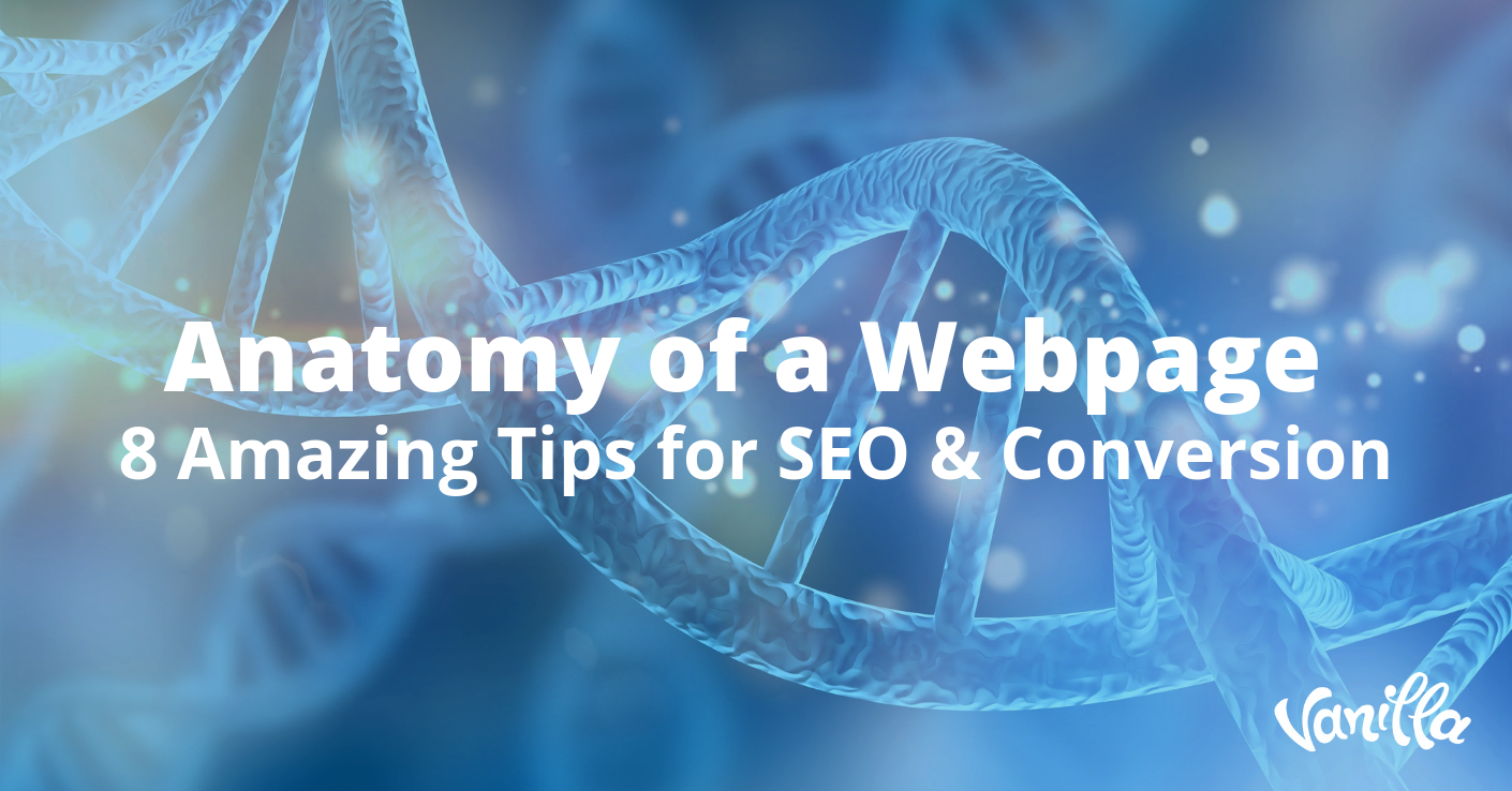 Anatomy of a Webpage: 8 Amazing Tips for SEO & Conversion