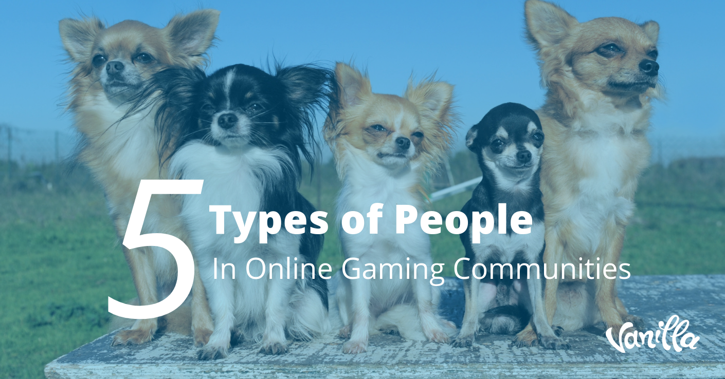 5 Types of People in Online Gaming Communities