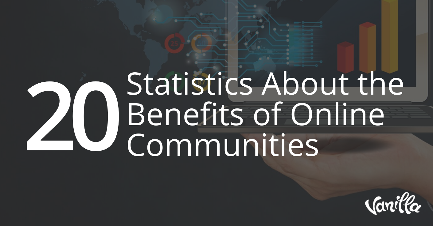 20 Statistics About the Benefits of Online Communities