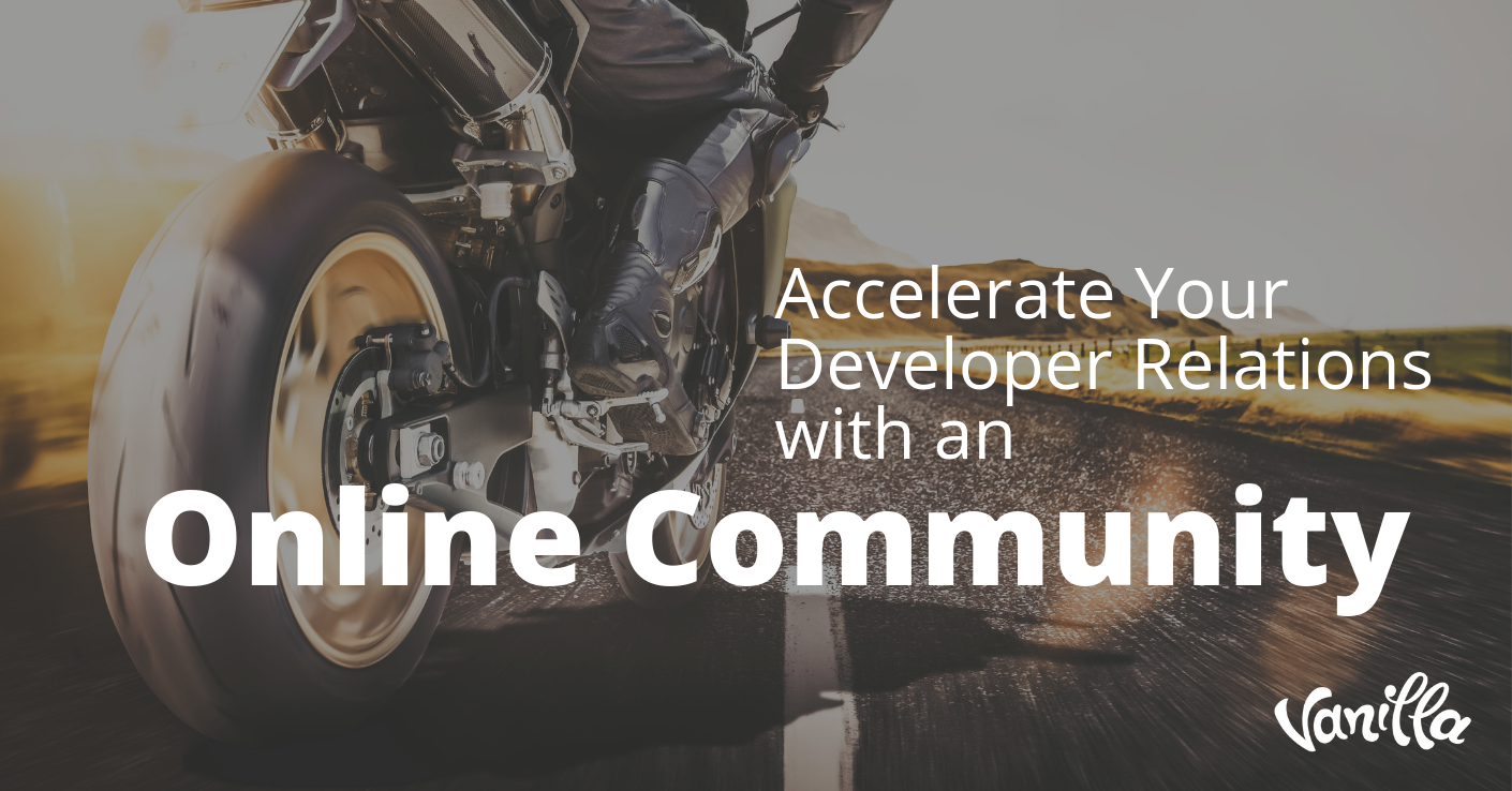 Accelerate Your Developer Relations With an Online Community
