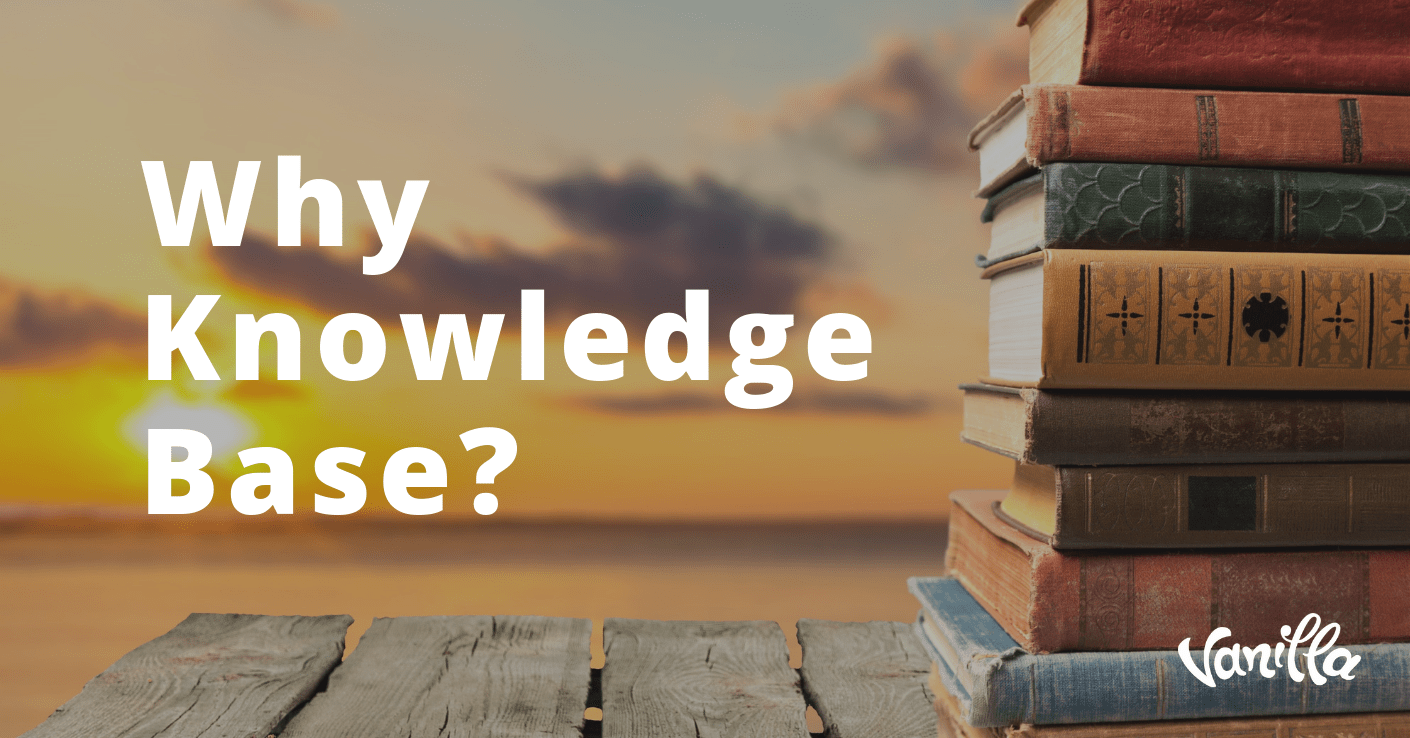 Why Knowledge Base?